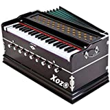 Xoz® 9 Stopper 42 Key two reed coupler Harmonium with cover by sandhu musicals (kawaljeet singh)