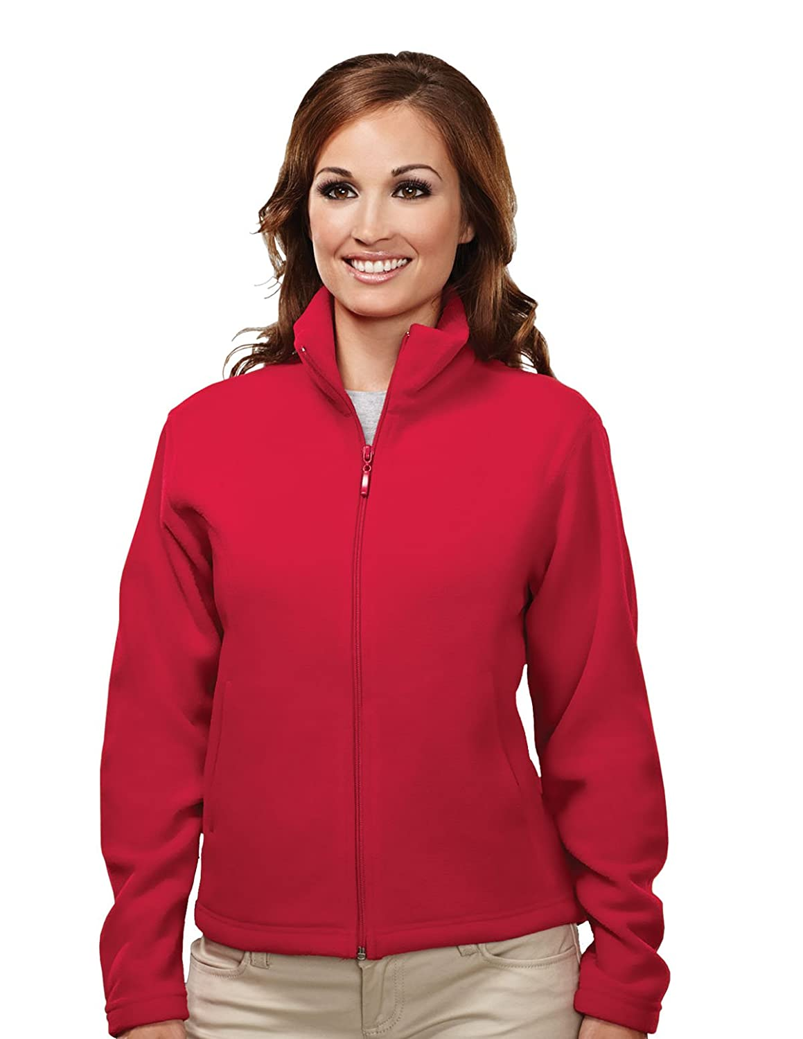 Womens Polyester Windsor Tailor Fit Anti-Pilling Micro Fleece Jacket (11 Colors) 7120