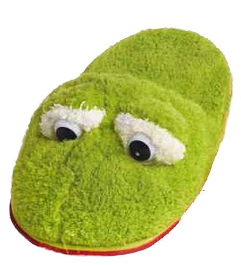 Zapatillas Rana, Verde, Pantuflas, diseño de Animales, Tallas: S=35 - 37, M=38 - 40, L=41 - 43: Amazon.es: Zapatos y complementos