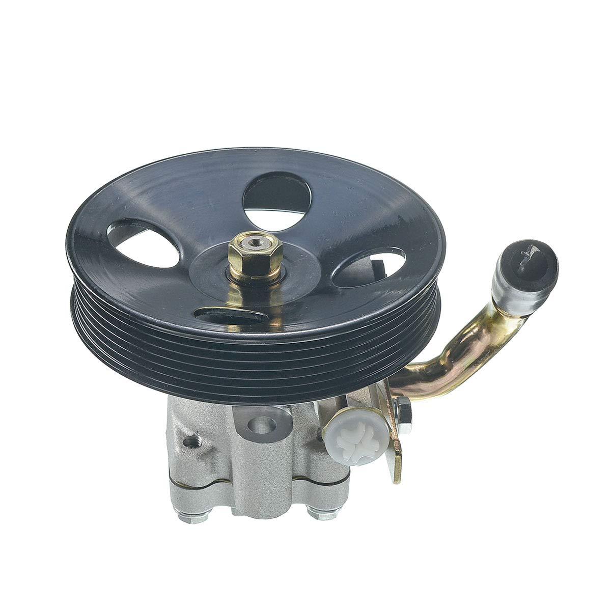 ECCPP 21-5449 Power Steering Pump Power Assist Pump Fit for 2005-2009 Hyundai Tucson 2005-2010 Kia Sportage