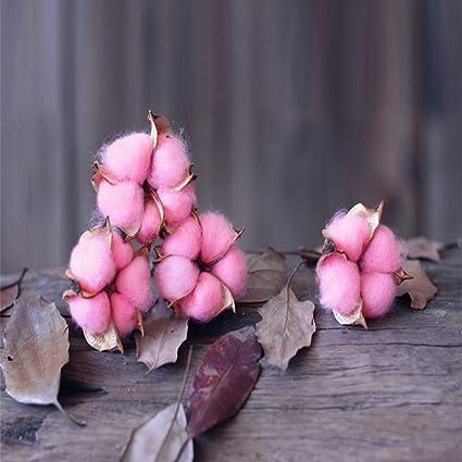 Etbotu Colore Coton Bouquet De Fleurs Fleur Artificielle Home