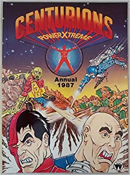 Book Centurions Power Xtreme Annual 1987