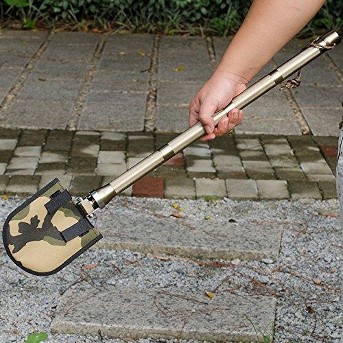 Multi-functional Folding Shovel Survival Spade Garden Camping by Garden at Home (Image #7)