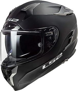 LS2 Helmets Full Face Street Breaker Helmet Matte Black - XXX-Large