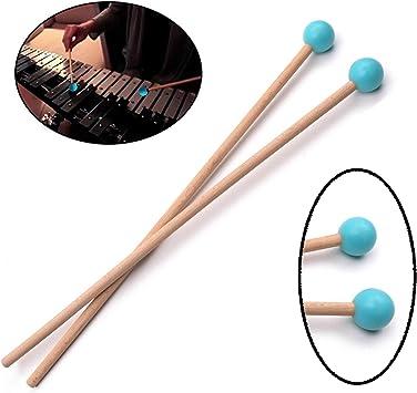 1 Paar Percussion Mallets Xylophon Sticks Für Kinder Musikinstrument