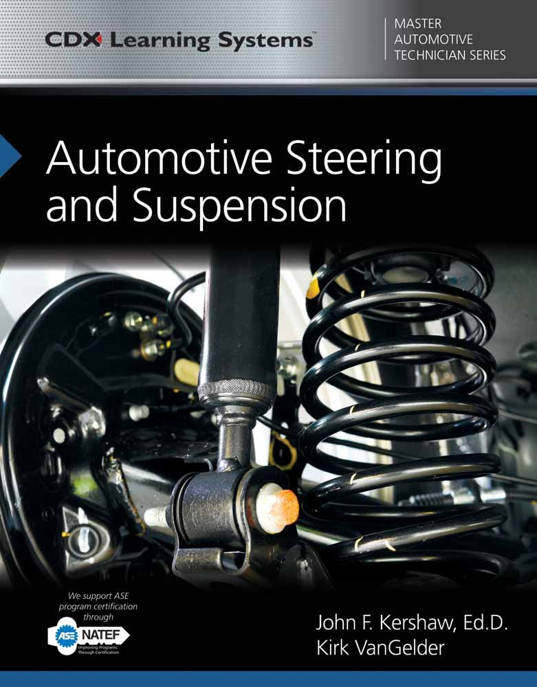 Automotive Steering and Suspension: CDX Master Automotive Technician Series by Jones & Bartlett Learning (Image #1)