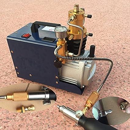 30 mpa 40 MPa 4500psi 6000psi Mini PCP Compresor De Aire De Alta Presión Bomba de