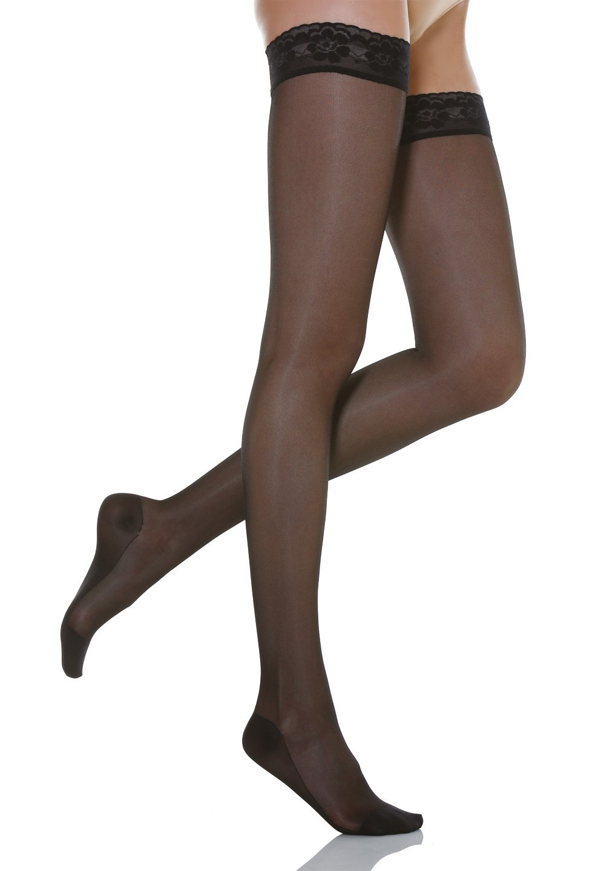 Relaxsan Basic 770 calze elastiche autoreggenti compressione graduata 70 Den GT Calze