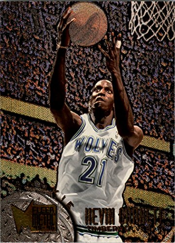 96 Metal Card - 1995-96 Metal #167 Kevin Garnett RC Rookie Card - NM-MT