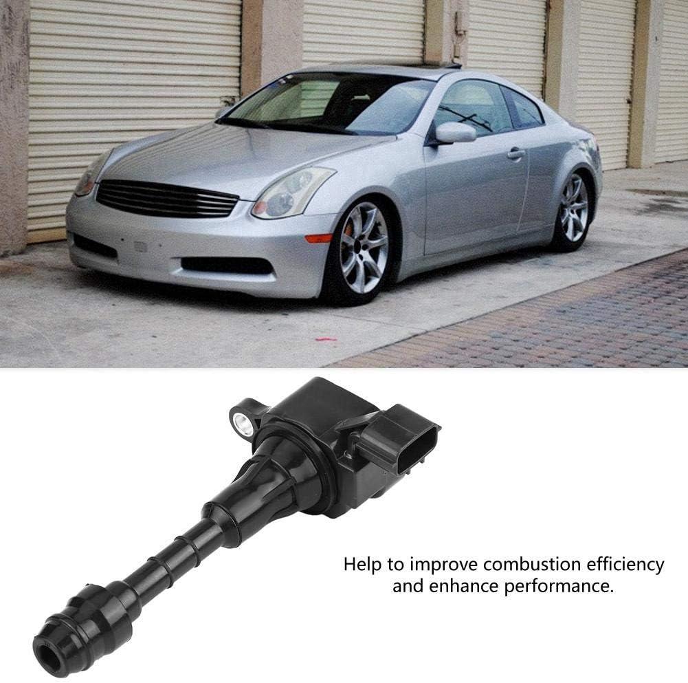 Akozon Ignition Coil 6pcs Car Ignition Coils UF-401 UF401 C1439 22448-AL61C 22448-AL615 for 350Z 3.5L 2003-2006 G35 3.5L 2003-2007 M35 3.5L 2006-2008 FX35 3.5L V6 2003-2008