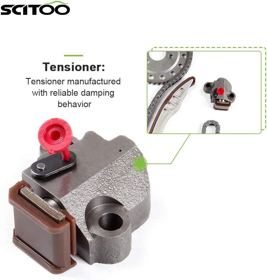 SCITOO Timing Chain Kit fits for 2004 2006 04-06 TK528 TK167 TKDG240A TK167 for Suzuki Verona 2.5L