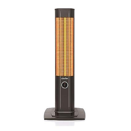 Wtb infrarrojos Estufa Vertical Estufa de termostato Carbon Stand Foco 1800
