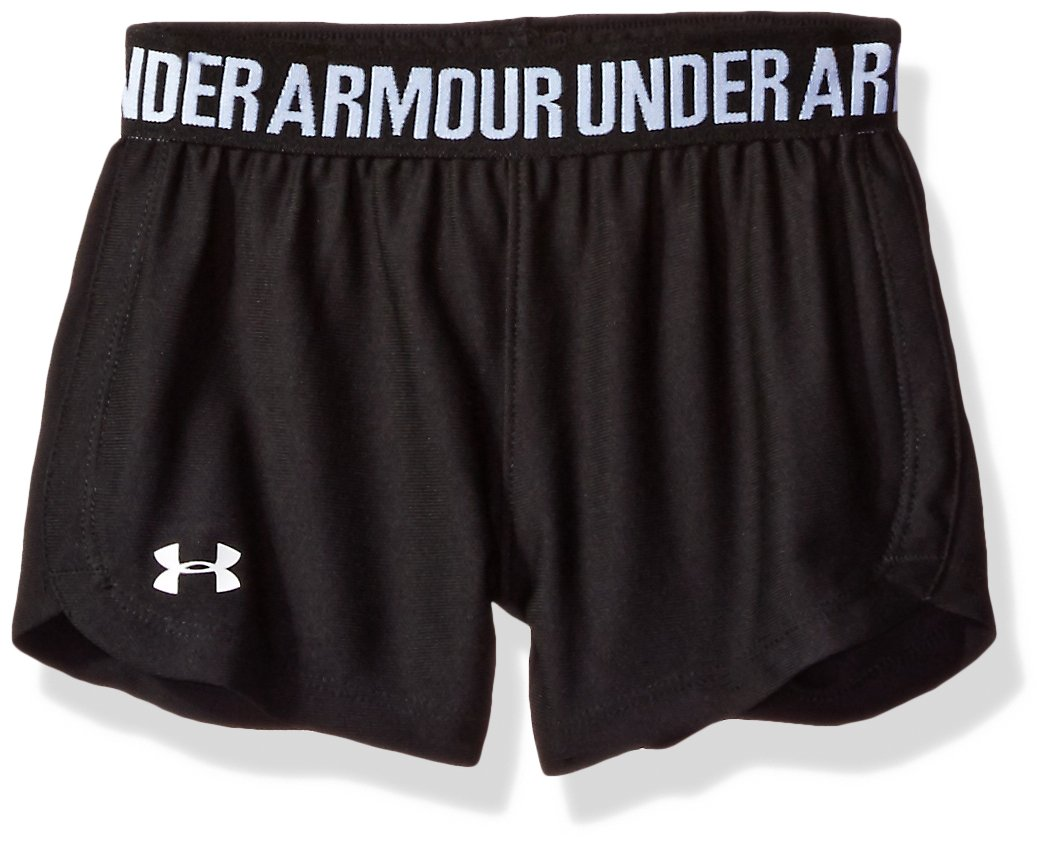 Under Armour Toddler Girls' Play Up Short,BLACK,2T