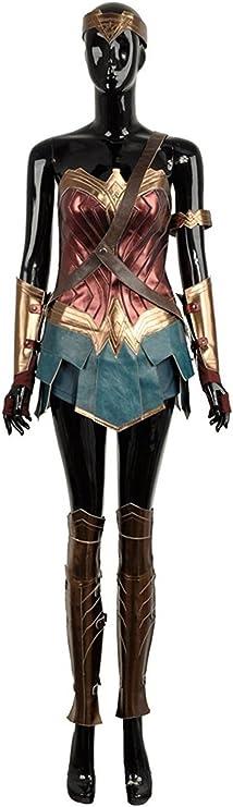 cosplayfly Wonder Woman disfraz de cosplay para adultos tamaño ...