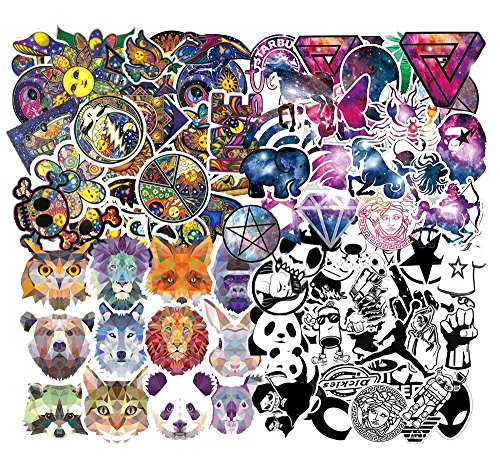 260 PCS Laptop Stickers , Car Bumper Stickers,Motorcycle Bicycle Luggage Decal Graffiti Patches Skateboard Stickers, Supercool Stickers for Adults