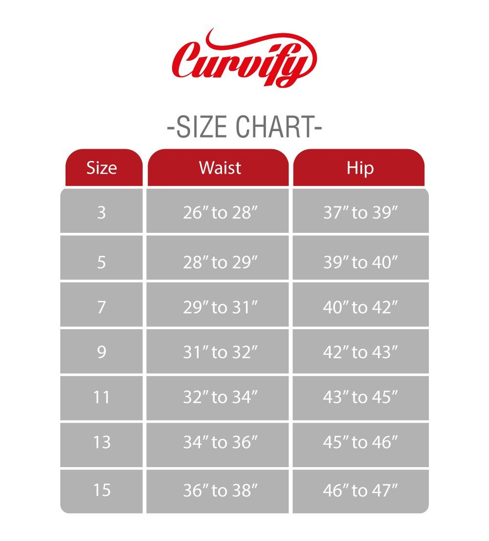 Curvify High Waisted Butt Lifting Slimming Jeans for Women - Skinny Stretch Jean 766(766, Black, 7) by Curvify (Image #4)