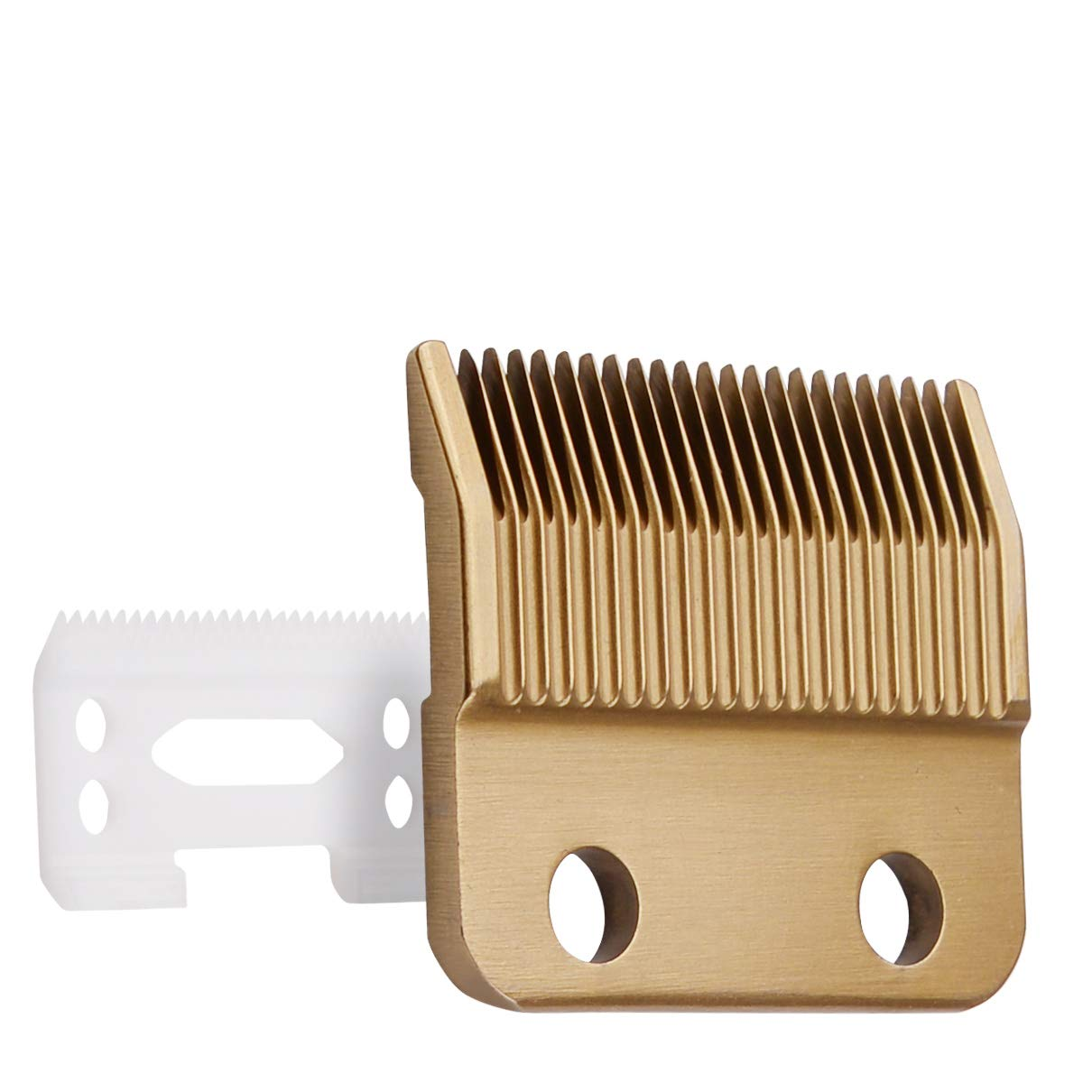 Cosyonall Professional Animal Standard Adjustable Replacement Blades #1037-400 -Designed for Wahl #30-15-10 Ceramic Blade Set,Gold