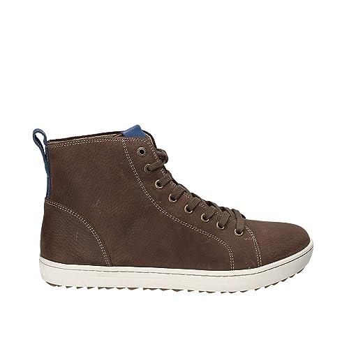 Bandon, Sneaker a Collo Alto Uomo, Blu (Navy), 41 EU Birkenstock