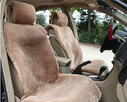 Marvelous Amazon Com Oflba Faux Sheepskin Car Seat Cover Front Fur Inzonedesignstudio Interior Chair Design Inzonedesignstudiocom