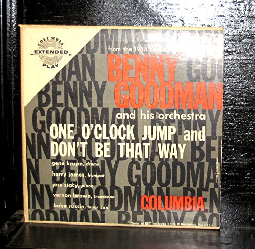 """Price comparison product image Benny Goodman and His Orechestra - One O'Clock Jump - 7"""" Vinyl Record"""