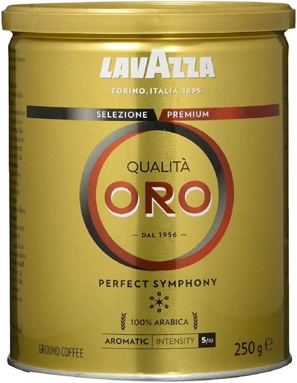 Café Torrado e Moído Qualitá Oro Lavazza Lata 250g por LAVAZZA