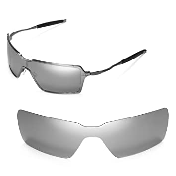 dec291a7df Walleva Replacement Lenses for Oakley Probation Sunglasses - Multiple  Options (Titanium Mirror Coated - Polarized)
