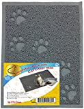 ANDALUS Cat Litter Trap Mat | Small Large X-Large Size | Phthalate & BPA Free | Easy to Clean (Small - Gray)
