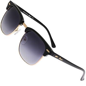 gran descuento a0159 a8e64 Rivacci Gafas de Sol Polarizadas Hombre Mujer - Marca Retro/Vintage –  Lentes Deportivas - Funda y Toallita Limpiadora Gratis