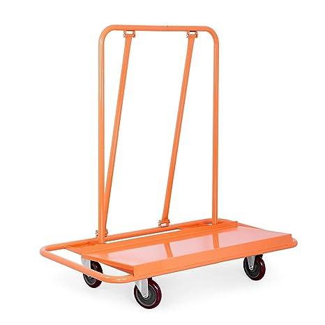 Amazon.com: BestEquip Drywall Cart 3000LBS, Orange: Home ...