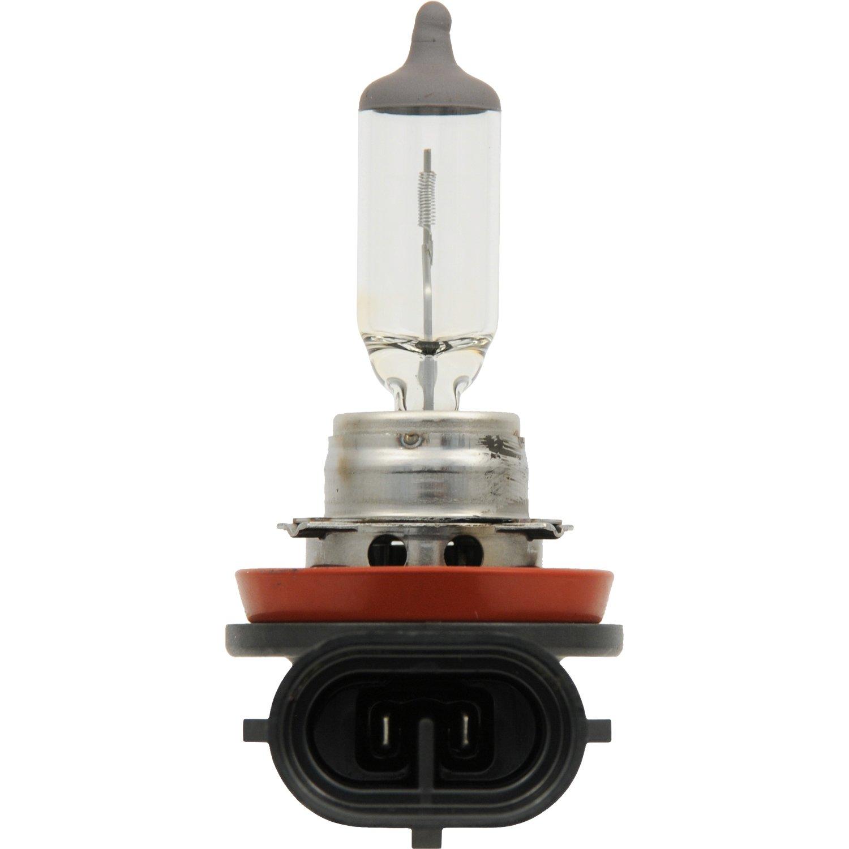 SilverStar zXe High Performance Halogen Headlight Bulb Contains 2 Bulbs 64211 Bright White Light Output Xenon Fueled Technology H11 HID Attitude SYLVANIA Headlight /& Fog Light