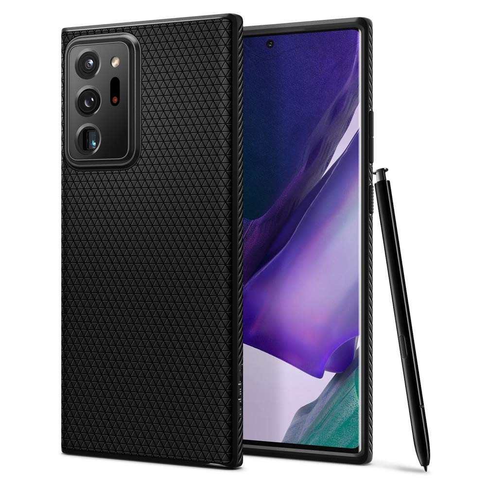 Spigen Liquid Air Armor Designed for Samsung Galaxy Note 20 Ultra 5G Case (2020) - Matte Black