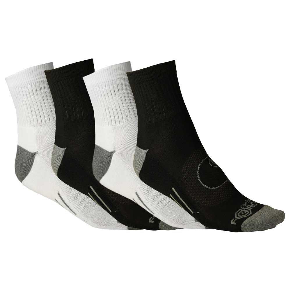 Carhartt Mens A497-4 Force Quarter Sock 4-Pack