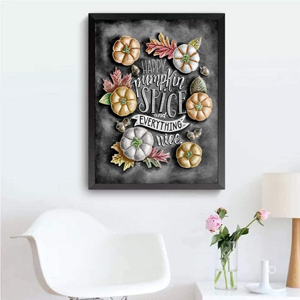 YENJO DIY Frameless Rhinestone Painting Embroidery Plants Pattern Cross Stitch Drill Cross-Stitch