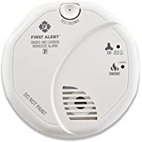 First Alert SCO5CN Combination Smoke & Carbon Monoxide Detector (Battery Operated)