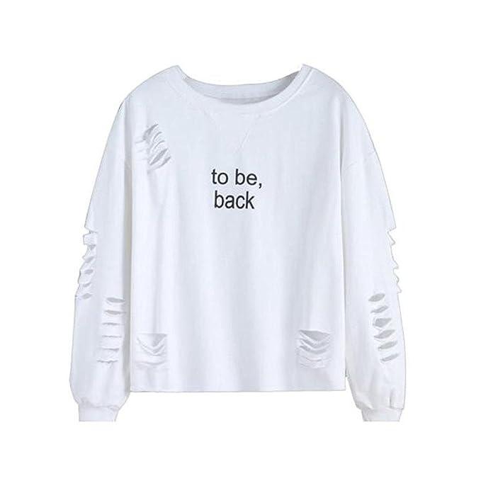 Camisas Mujer Tops Manga Larga Elegante Moda New Look Casual Fiesta Juvenil Moderno Clásico T-Shirt Ropa Señora Camisa Blouse V Cuello Básicos Camisetas ...