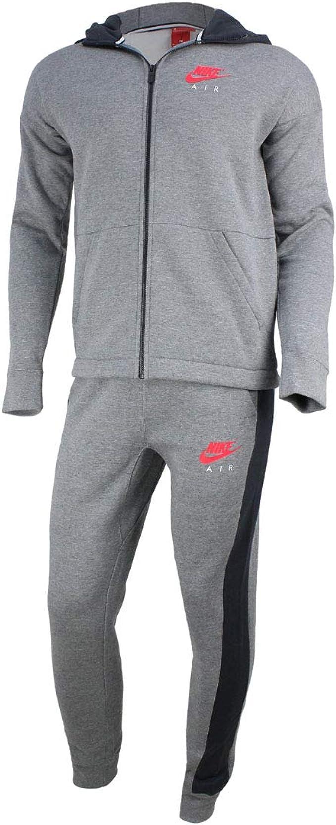 Nike Air NSW - Chándal Completo para Hombre Gris Gris L: Amazon.es ...