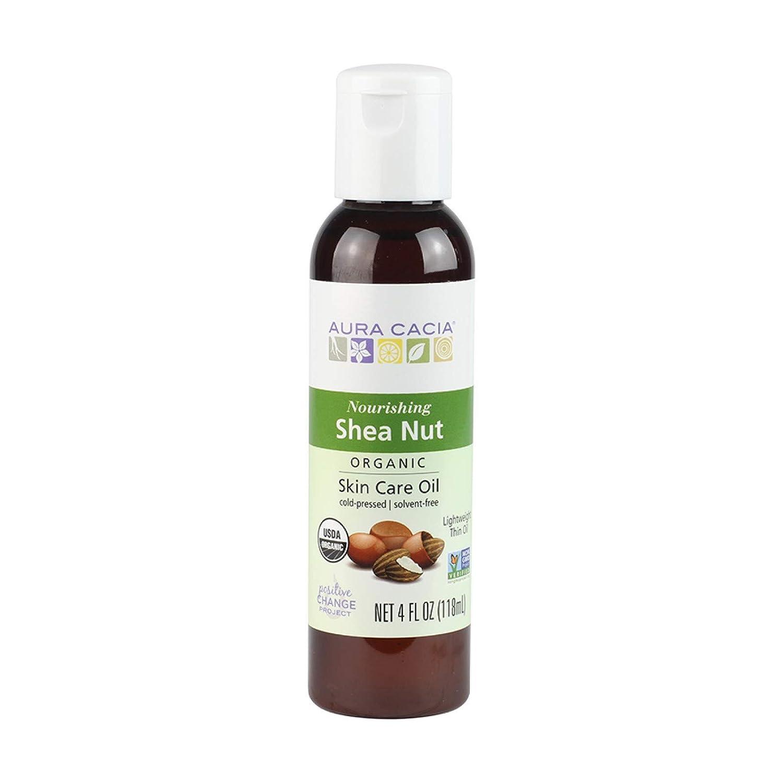 Aura Cacia Certified Organic Shea Nut Skin Care Oil   4 fl. oz.