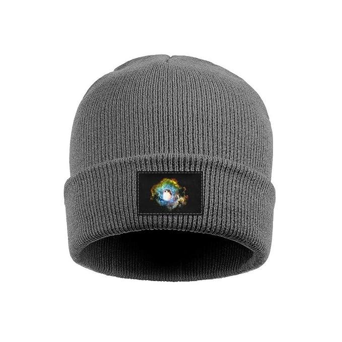 4cdc12379a2b97 Websi Wihey Unisex Knit Hats Galaxy cat Kitty Thick Soft Winter Warm  Slouchy Beanie Wool Caps