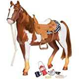 """Our Generation 20"""" Appaloosa Horse - Trail Riding"""