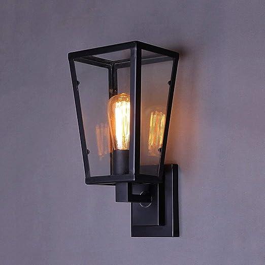 Aplique de pared de época, iluminación industrial Socket ajustable ...