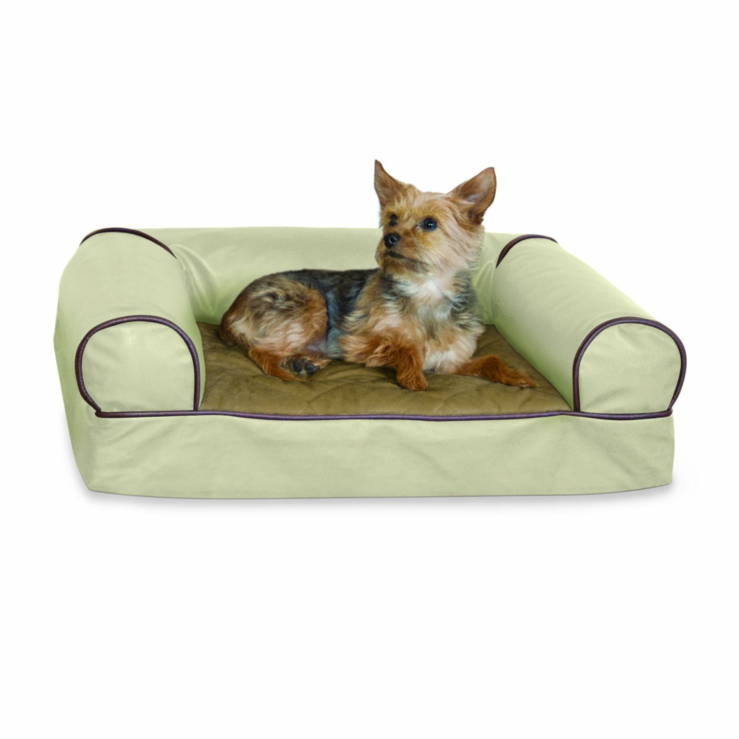 K&H Memory Large Foam Cozy Pet Sofa