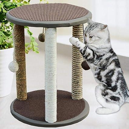Fushenr Tabla de Juego para Gatos, Escalada, Gato, árbol ...