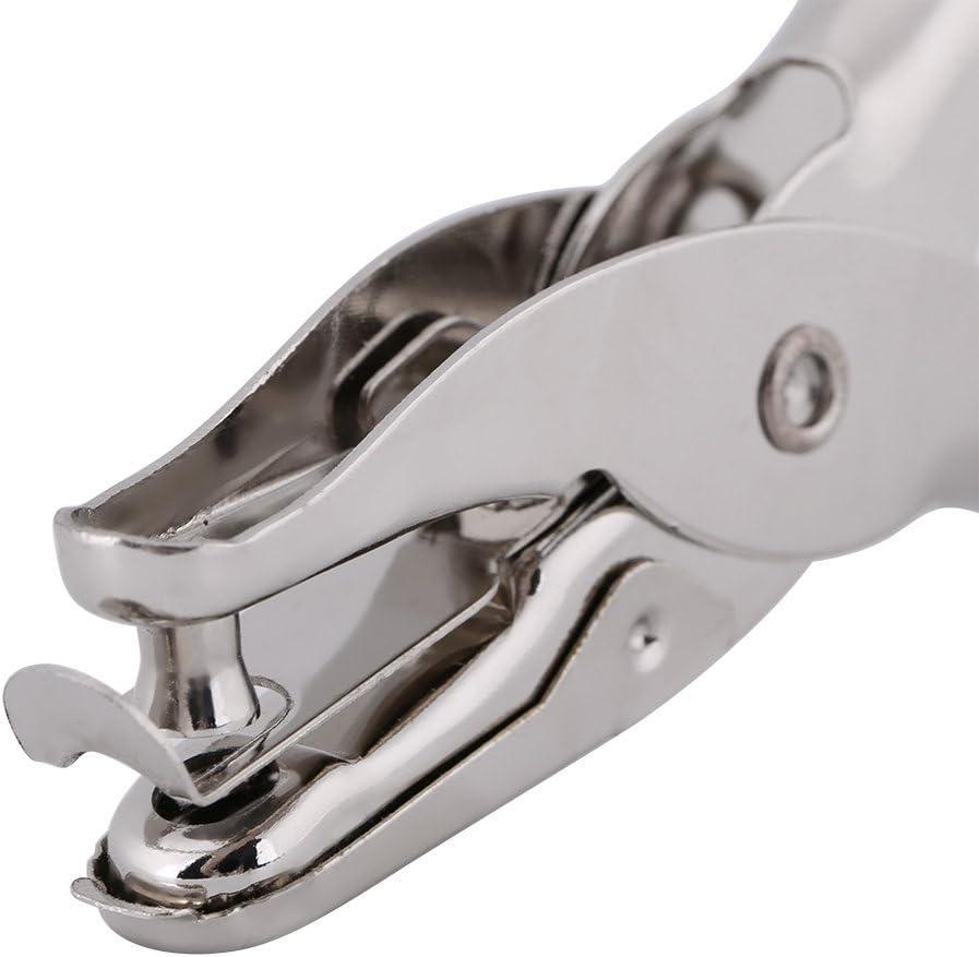 Jadeshay Outil de Coupe de Cercle de perforateur de Trou Unique de perforateur de Papier de poin/çon de Cercle pour Le marquage de Billet de Scrapbooking dartisanat