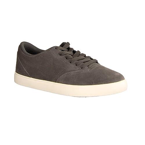 Nike SB Check Suede (GS), Zapatillas de Skateboarding para Hombre, Dark Grey