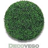 Bosso Palla Sfera Buxus Piante Artificiale Plastico Ø45cm Decorazione Per Interni ed Esterni Decovego
