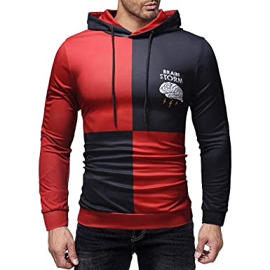 ... Larga Sudadera con Capucha Blusa,Beikoard 2018 Hombre Camisas Moda Manga Larga Men Fashion Slim Fit Casual Long Sleeves: Amazon.es: Ropa y accesorios