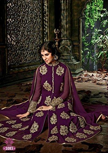 Partywear work Jay Dazzling Salwar Suit Sarees Bela Super 1083 4wq51BS5