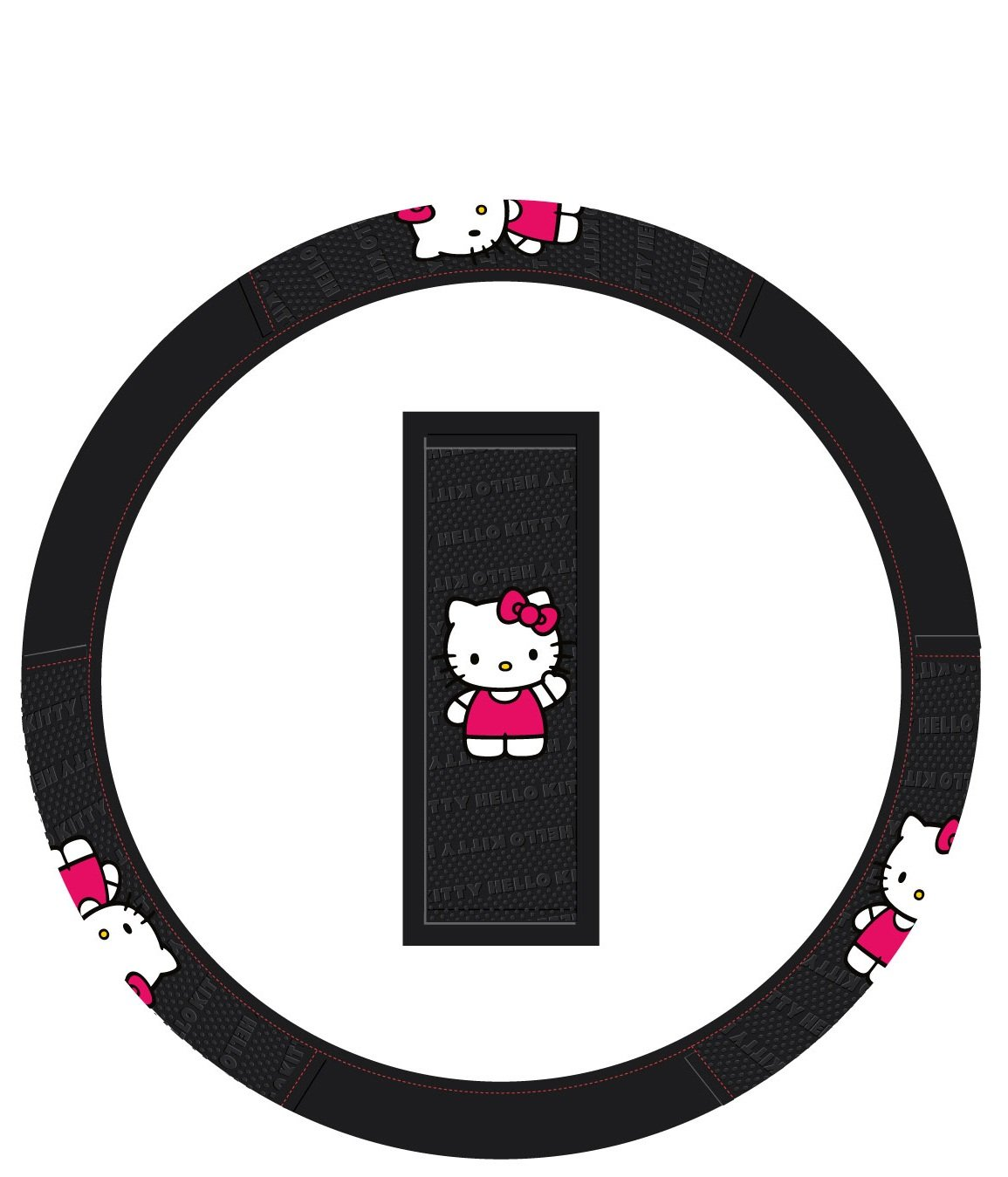 Hello Kitty Ribbon Wheel-Cover