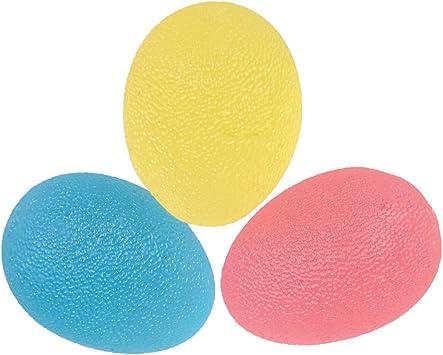 Pelotas de ejercicios de mano LoveTree con forma de huevo para ...