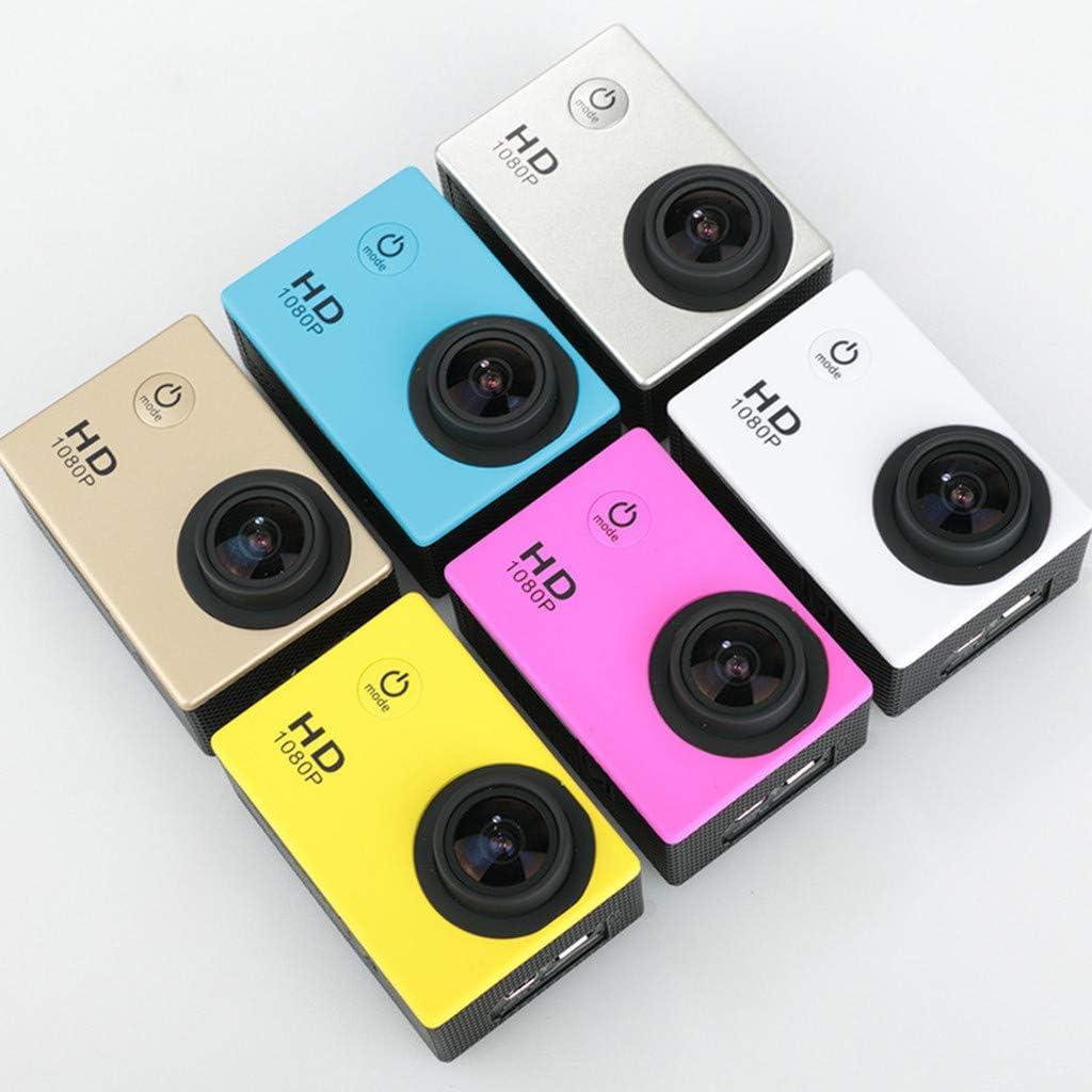 DVR-Kamera neue wasserdichte Kamera 30 m Sport-Action-Kamera EIS wasserdicht SHSH 4K-Action-Kamera wasserdicht bis 30 m WiFi Webcam mit Fernbedienung f/ür Vlog Unterwasser-Kamera
